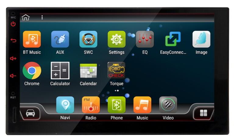 Eincar 1-Din-Autoradio mit Touchscreen und Android 9