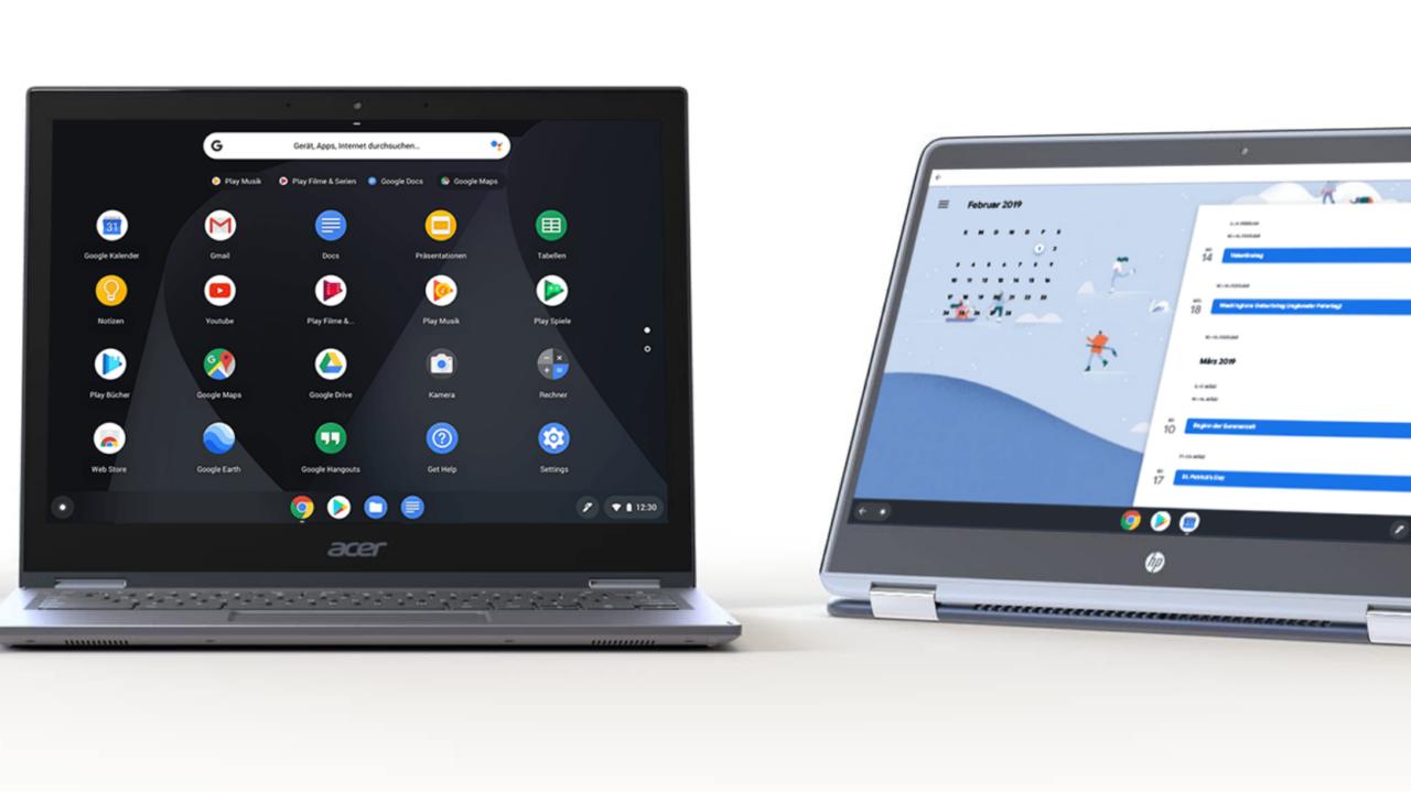 Chrome OS mit Windows-Apps: Der lange Weg zur Nummer 3