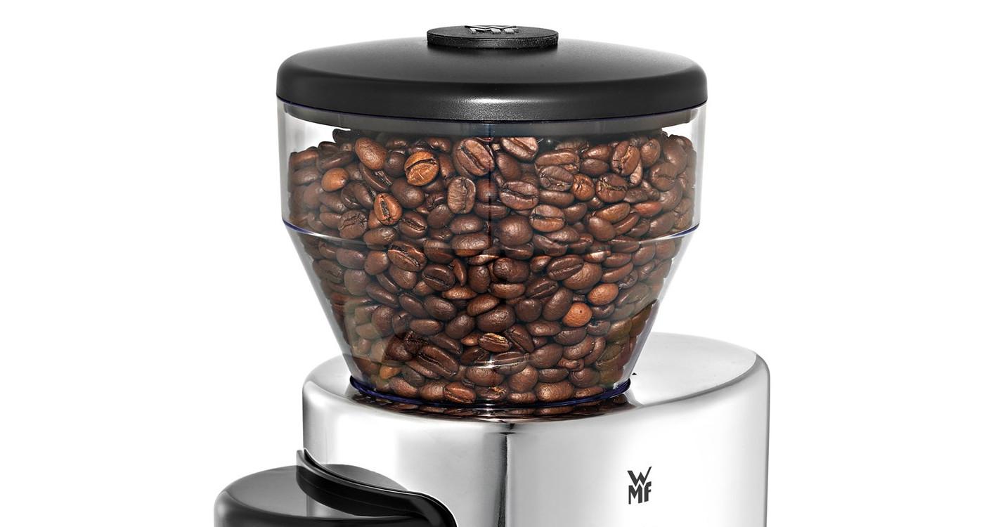 Bohnenbehälter einer elektrischen Kaffeemühle von WMF