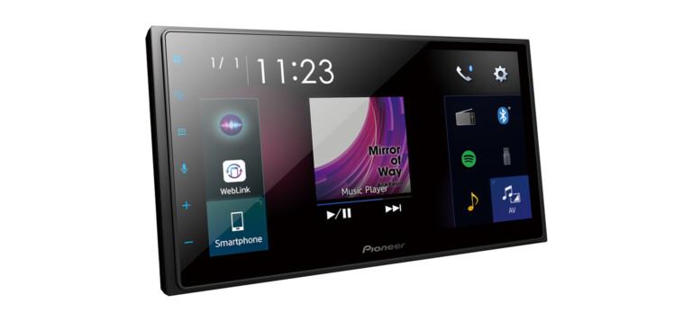 Noch mehr Touchscreen im Pioneer DMH Z5350BT