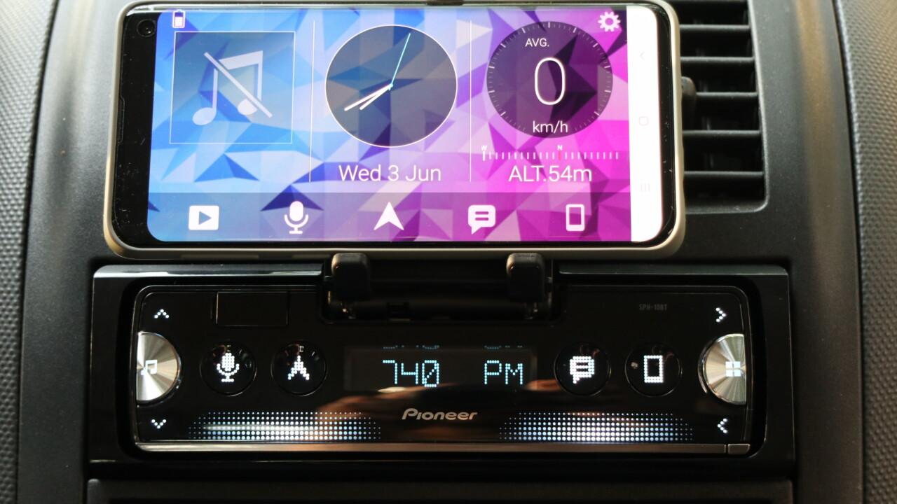 Pioneer SPH-10BT im Test: Autoradio mit eurem Smartphone als Display