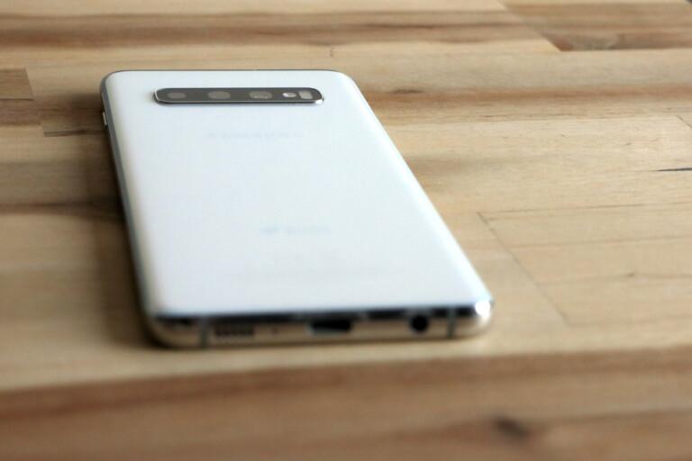 Schönes Design, immer noch: Das Samsung Galaxy S10