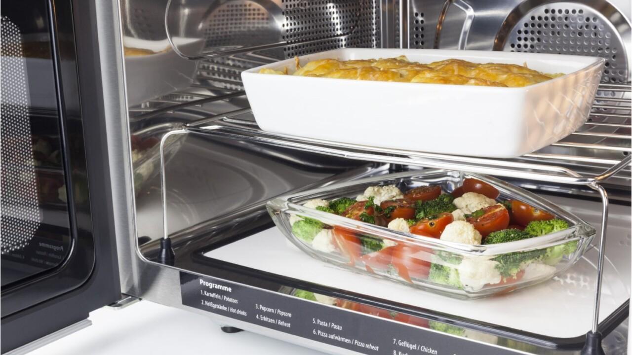 Mikrowellen mit Grill und Heißluft: Kompakte Allrounder für eure Küche