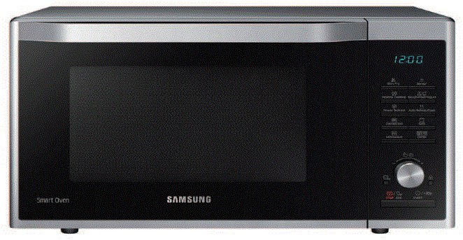 Das ist dann schon mehr Ofen als Mikrowelle... (Foto: Samsung)