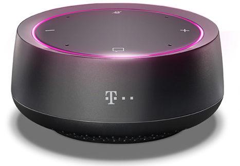 Das ist der Smart Speaker Mini. (Foto: Deutsche Telekom)