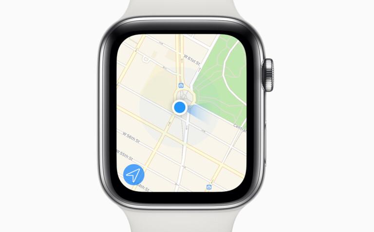 Wo seid ihr? Die Karten-App auf der Apple Watch sagt es euch.