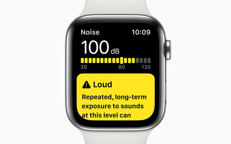 Lärmmess-App auf der Apple Watch seit WatchOS 6