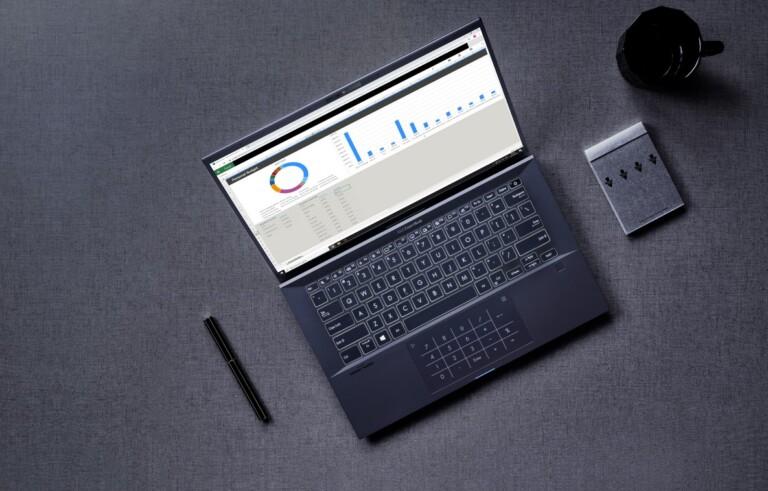 Das ExpertBook B9, wie Asus es vorgesehen hat