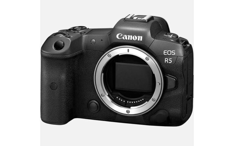 Gehäuse der Canon EOS R5