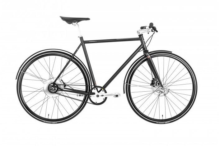 Sehr elegant: Das Cooper Belt Disc verwendet einen Riemen statt einer Kette. Motor und Akku verstecken sich in der Hinterradnabe.