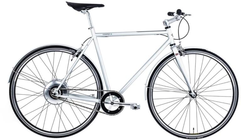 Der britische Hersteller Cooper baut wunderschöne E-Rennräder im Retro-Stil.