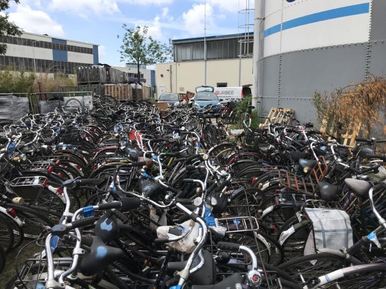 Das Rohmaterial für neue Bikes