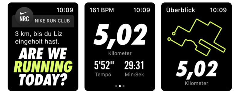 Soziale-Trainings-App Nike Run Club