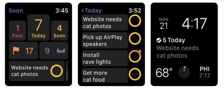OmniFocus 3: To-Do-App für die Apple Watch