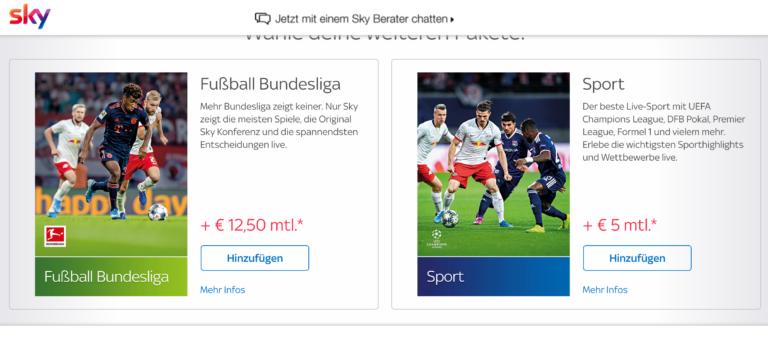 12,50 + 12,50. Die Preise für die Bundesliga bleiben allen Rechenspielen zum Trotz bei 25 Euro.