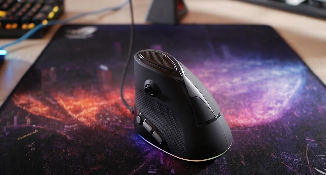 Speedlink Sovos: Eine vertikale Maus für Gamer