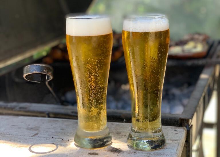 Bier am Grill