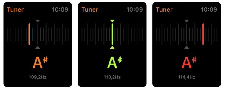 Cifra Club Tuner: Stimmgerät für die Apple Watch