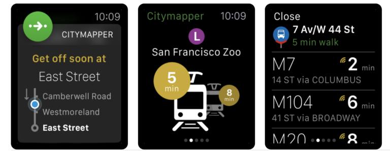 Die Öffi-App Citymapper bildet ein gutes Team mit dem iPhone
