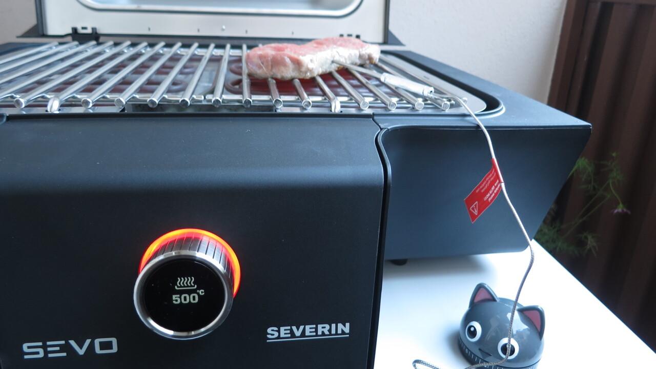 500 Grad heiß: Elektrogrill Severin PG 8106 Sevo GT im Test