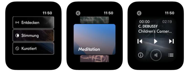 Vielleicht eine der besten Apple-Watch-Apps überhaupt: Idagio
