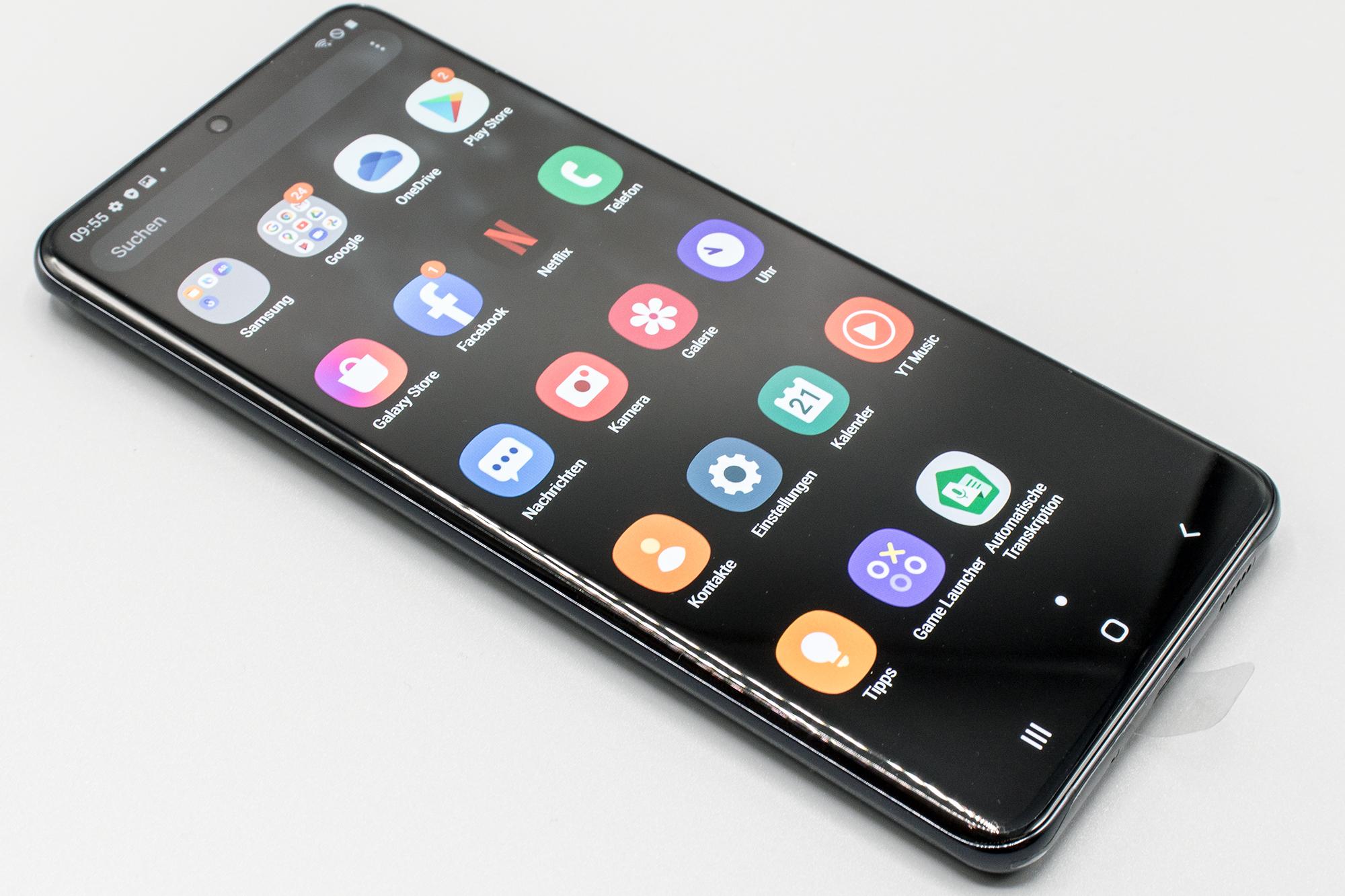 Komplettansicht Samsung Galaxy S20 Ultra 5G