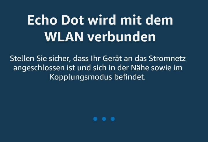 Amazon Echo Dot mit einem anderen WLAN verbinden
