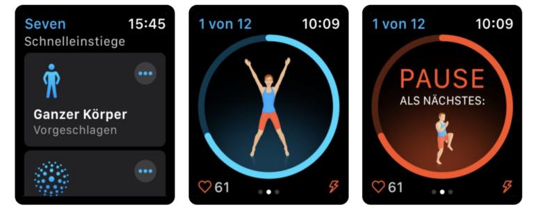 Workout-App Seven