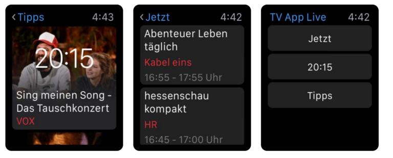 Einfach nur sehen, was im Fernsehen läuft: TV.de
