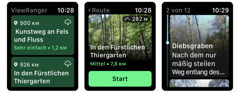 Outdoor-App ViewRanger