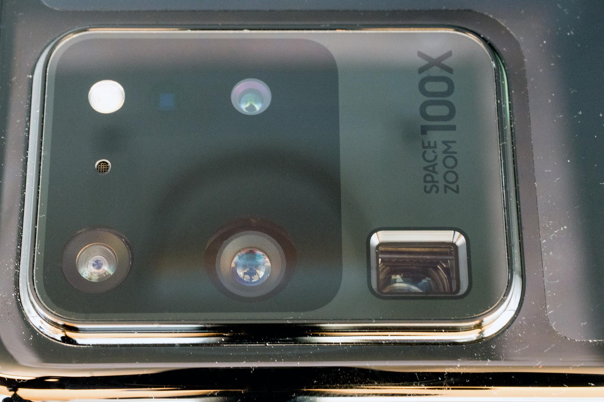 Kameras des Samsung Galaxy S20 Ultra 5G