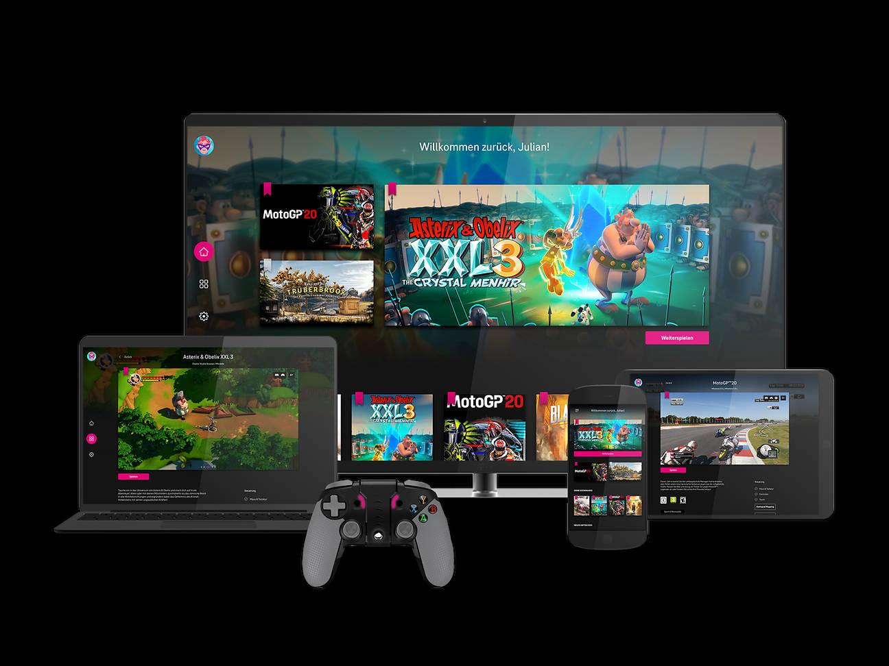 Magenta Gaming: Der Cloud-Gaming-Dienst der Telekom im Check
