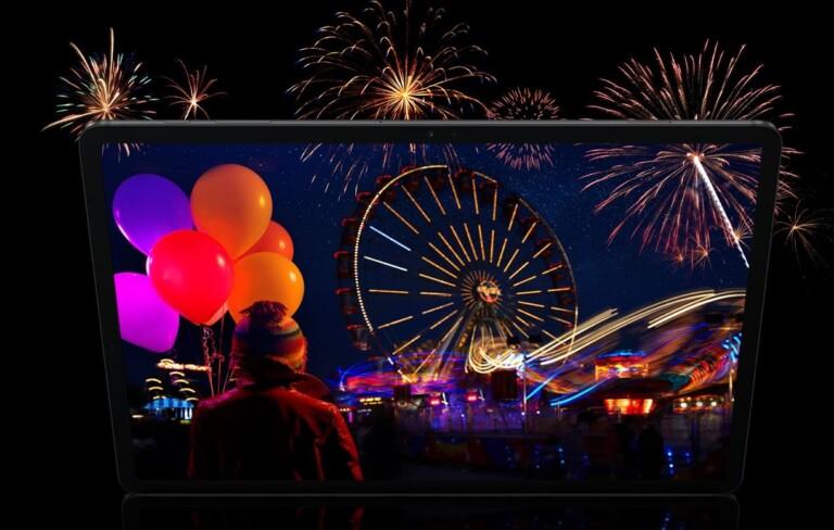 Hochwertiges Display, 4 Lautsprecher, Dolby Atmos - das Samsung Galaxy Tab S7 bietet viel. (Foto: Samsung)