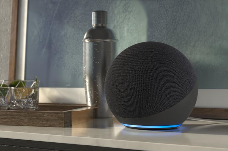 Der neue Amazon Echo ist rund.