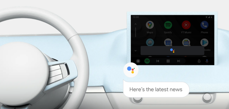 Smartphones mit Android 11 könnt ihr künftig kabellos mit kompatiblen Bordkonsolen verbinden. Der Google Assistent ist direkt eingebaut.