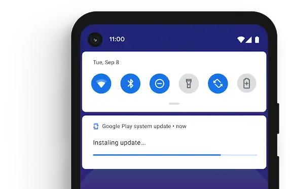 Sicherheitsupdates direkt über Google Play