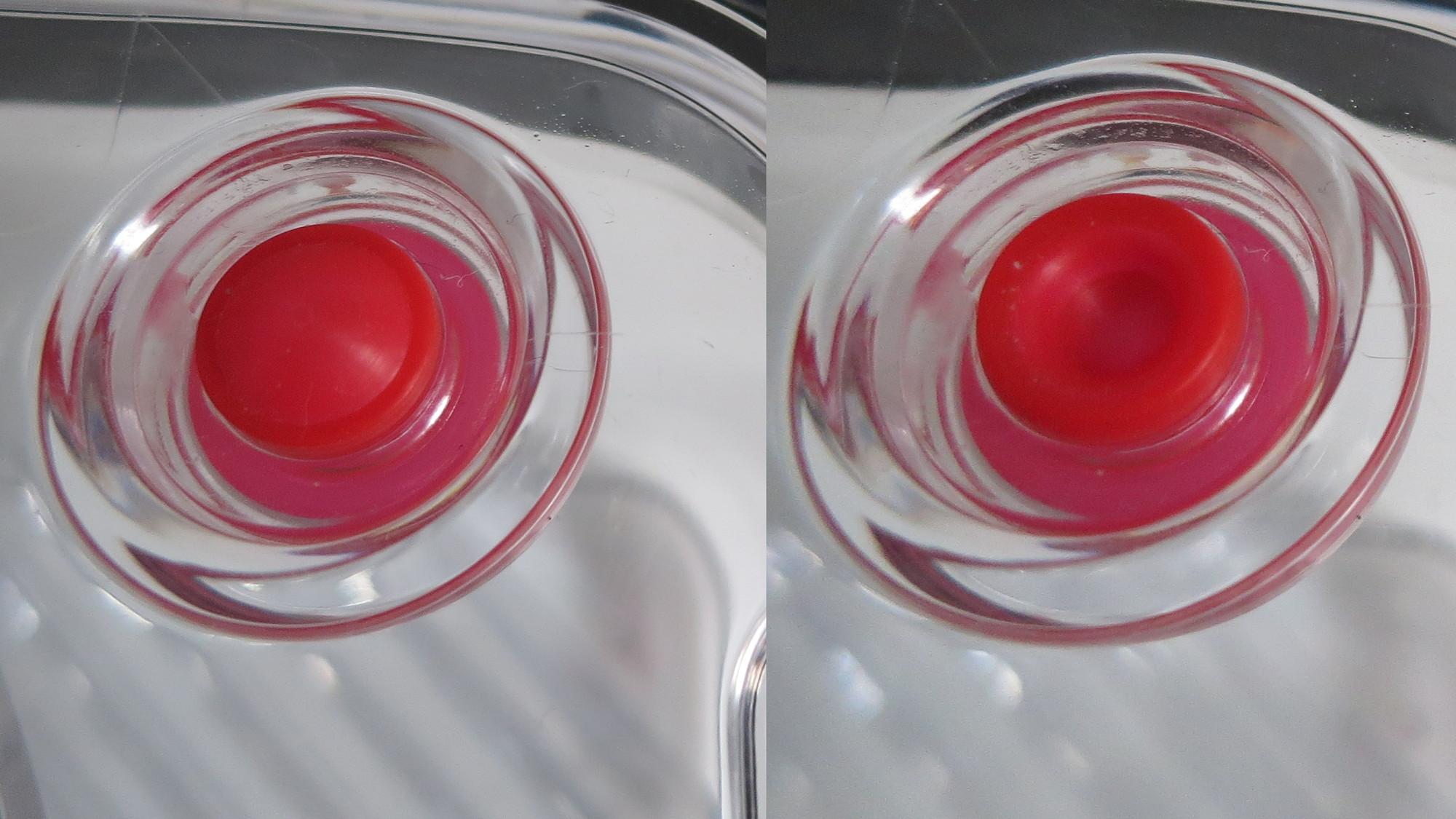 Vakuumanzeige auf der Frischhaltebox von Bosch
