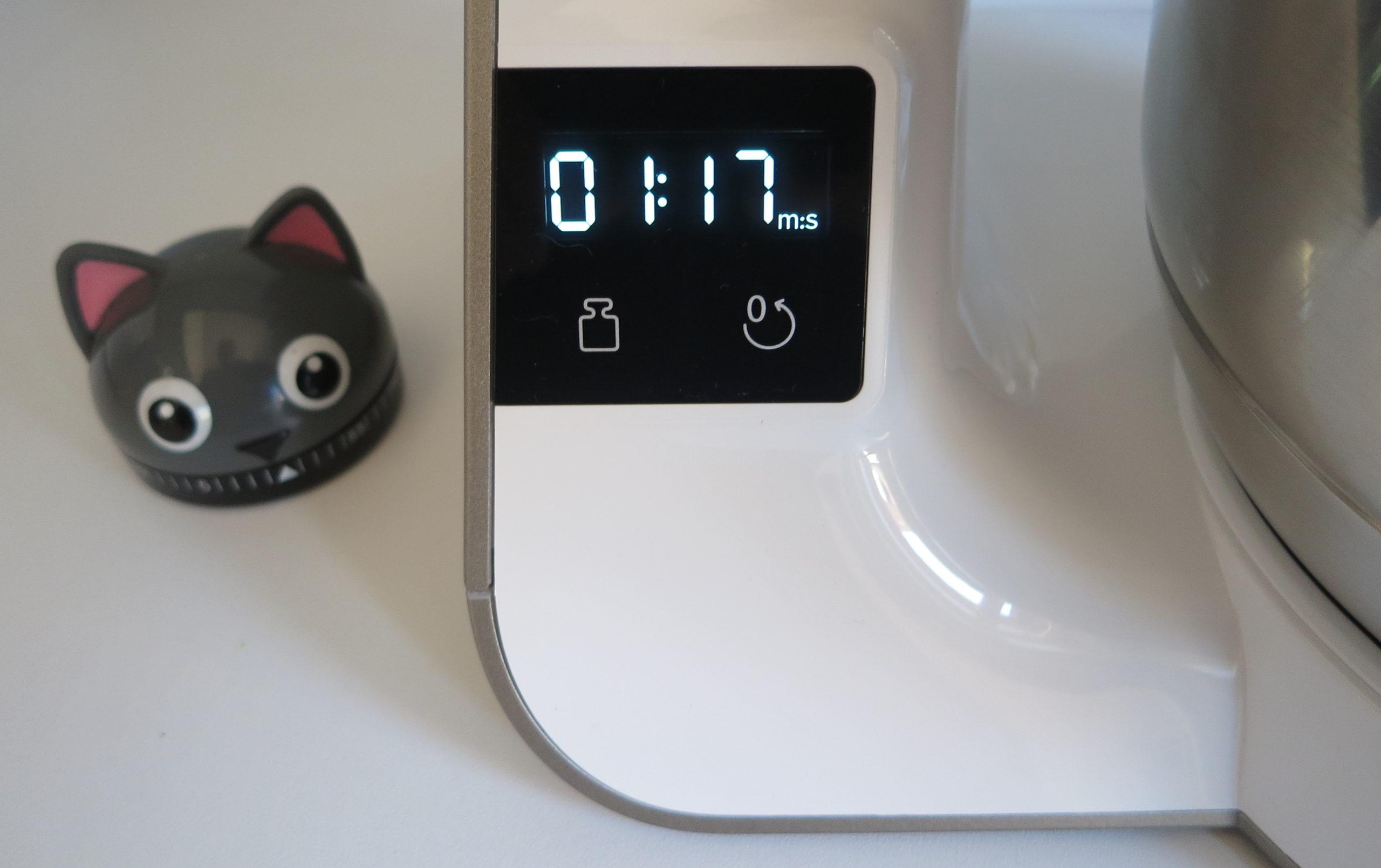 Bosch MUM5 scale mit Zeitanzeige