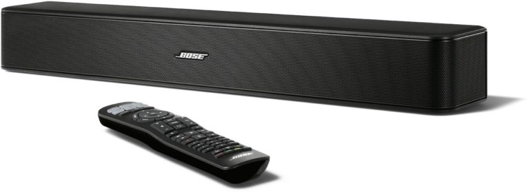 Soundbar Bose Solo 5: Lässt sich (wenn Bluetooth vorhanden ist) auch an einen Beamer statt einem Fernseher anschließen