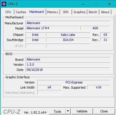 CPU-Z-Mainboard