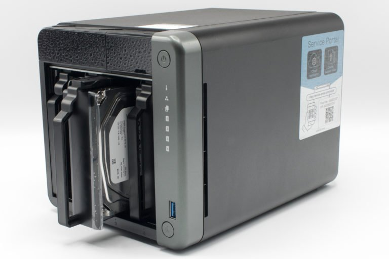 HDD_Einschübe der QNAP TS-453D
