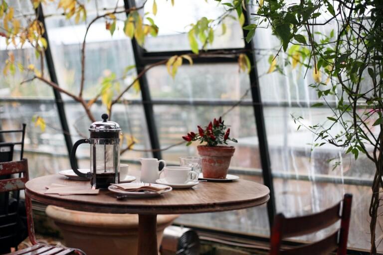Kaffeegedeck: Die French Press kommt in der Beurteilung der Umweltfreundlichkeit recht gut weg.