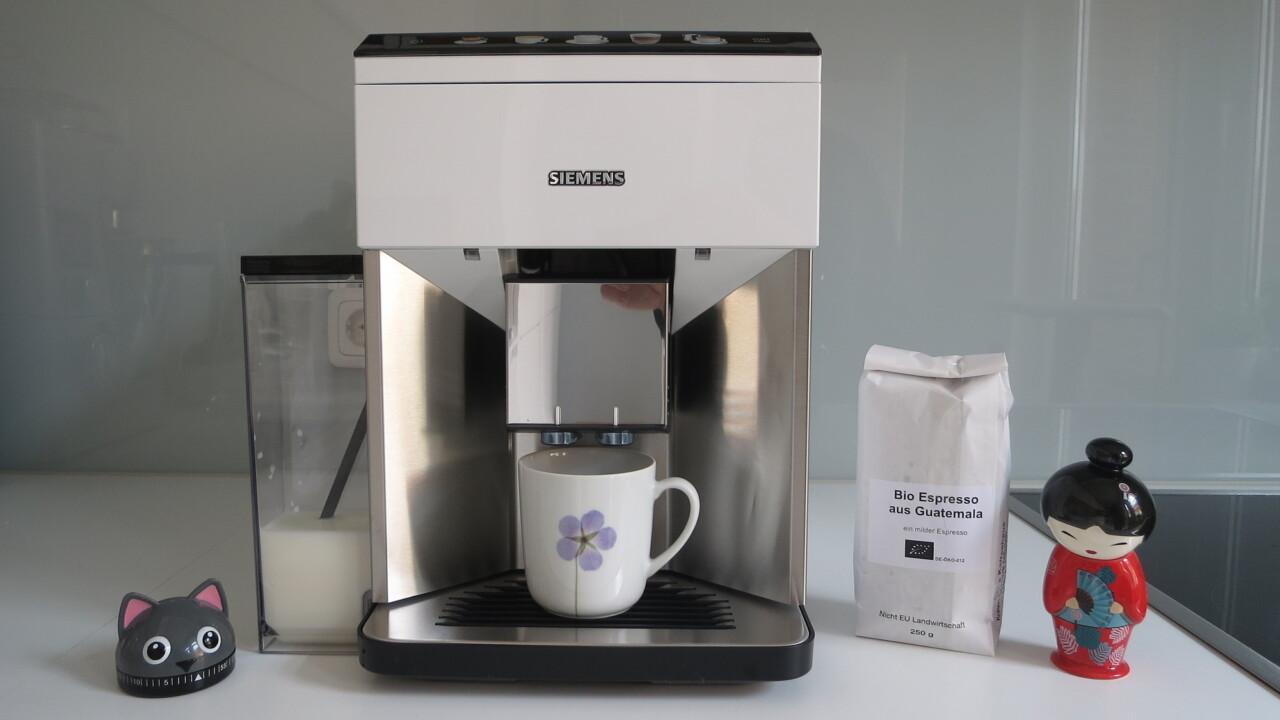 Siemens EQ.500 im Test: Einfach guter Kaffee