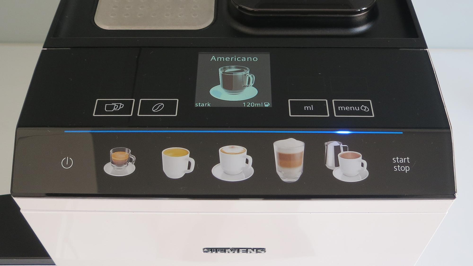 Kaffeevollautomat Siemens EQ.500 Bedienung
