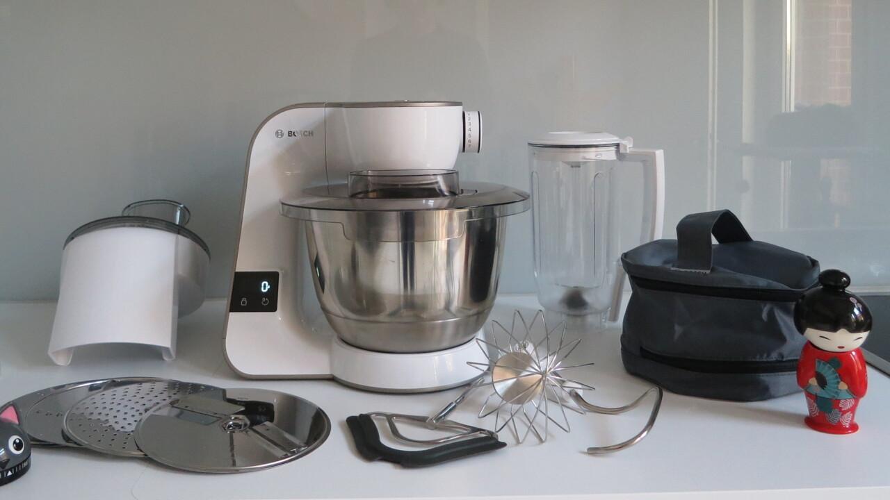 Bosch MUM5 scale im Test: Eine Waage in der Küchenmaschine