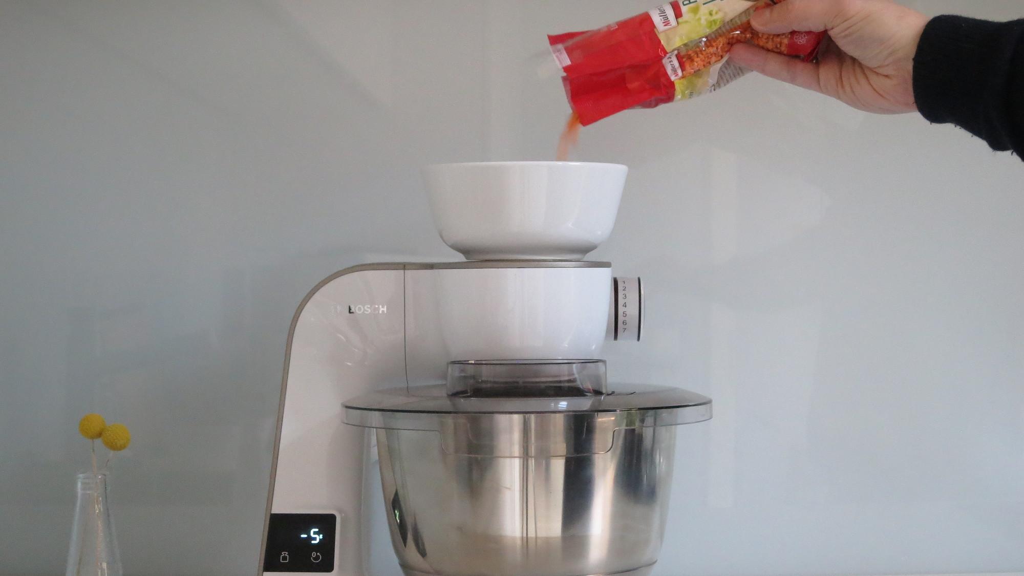 Küchenmaschine Bosch MUM 5 Scale Abwiegen