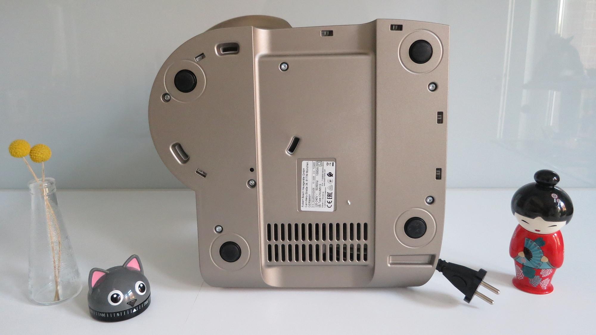Küchenmaschine Bosch MUM5 scale Gummifüße