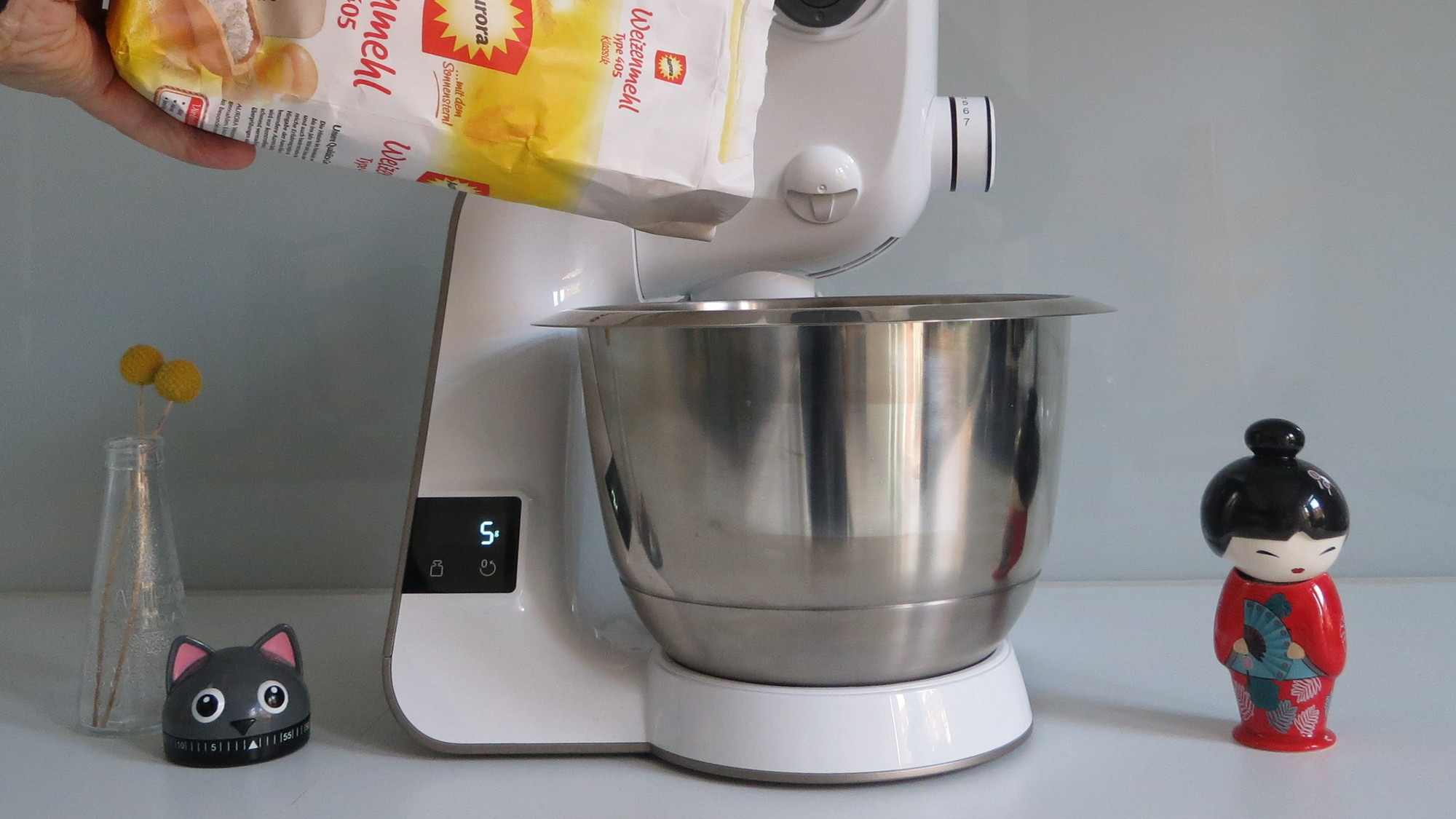 Küchenmaschine Bosch MUM5 scale Zuwiegen