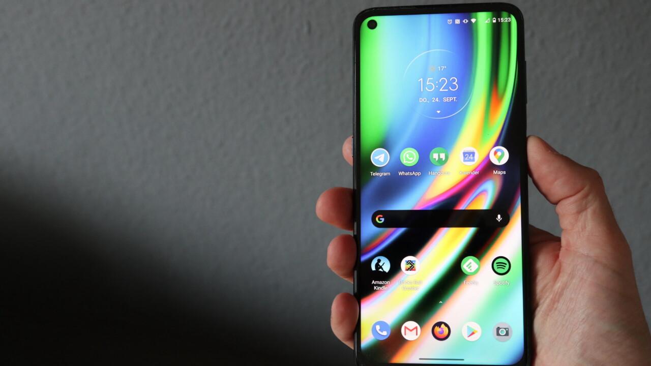 Motorola Moto G9 Plus im Test: Der Schein der Spitze