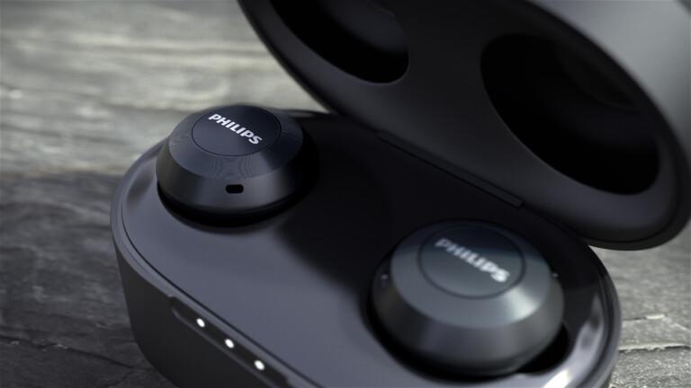 Philips T8505: True-Wireless-Kopfhörer mit aktiver Geräuschunterdrückung (ANC) setzen sich durch.